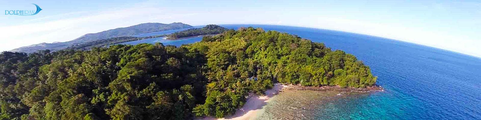 سفر تحقیقاتی برای کشف مرجان آزمایشگاه پولیپ در جزیره بنگکا