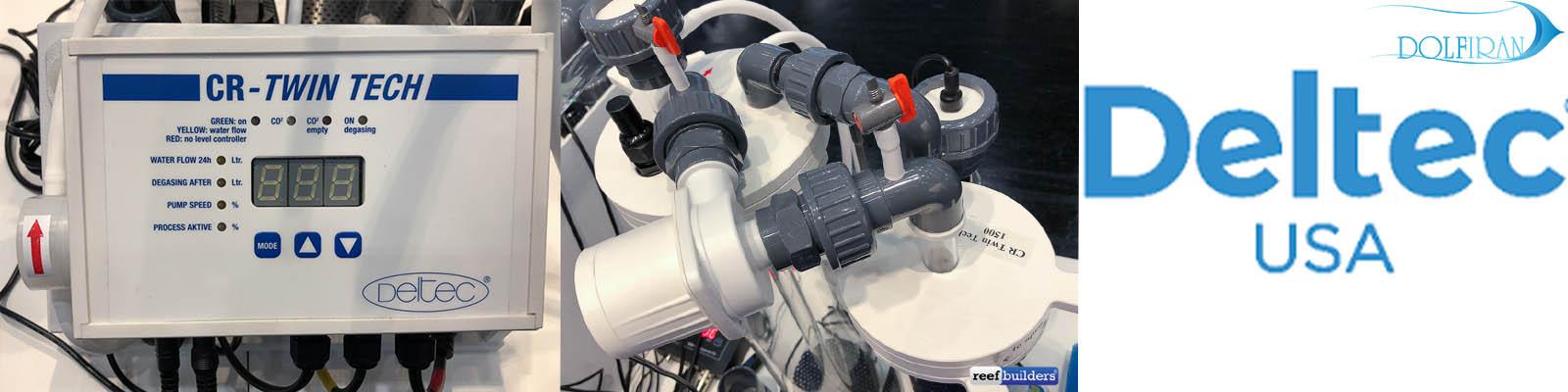 راه اندازی راکتور دو قلوی کلسیم  شرکت Deltec Twin Tech