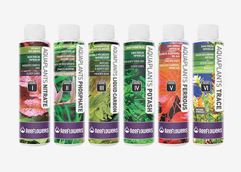 ۶ محلول کامل آکواریوم های گیاهی