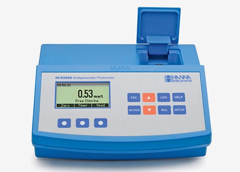 دستگاه تست فتومتریک آب مولتی پارامتر